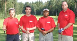 Intelorg Worldwide Movers 2004 Golf Team